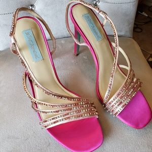 Betsey Johnson Pink Heels